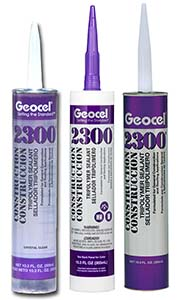 Caulk, Geocel 2300 Clear