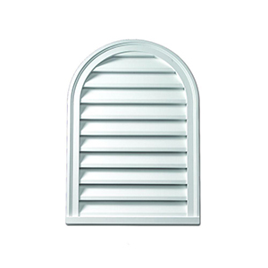 Cathedral Louver CLV22x31 White