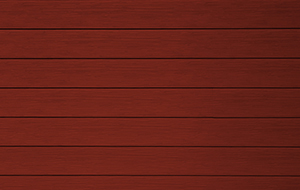 EnduraGrain D4 Siding, Classic Red